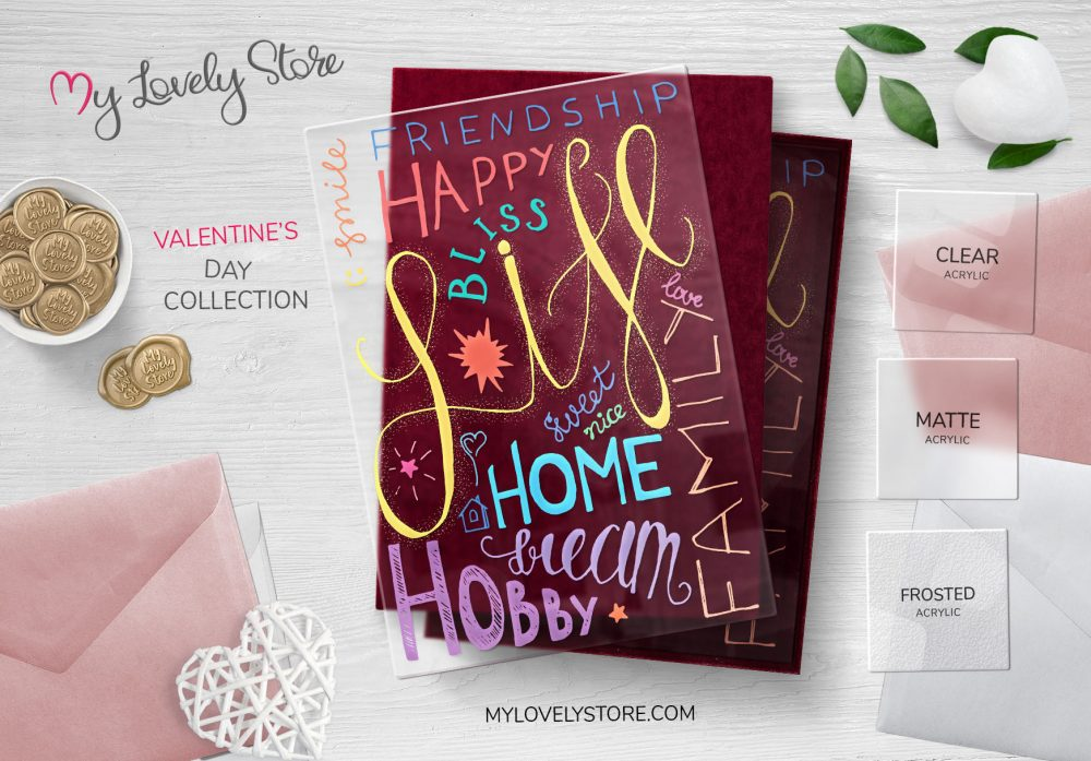 Clear Greeting Cards, Transparent Greeting Cards.