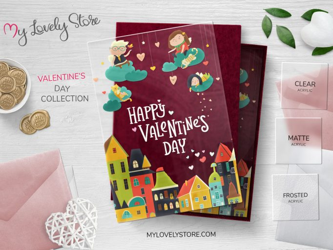 Cute and Cozy Happy Valentine's Day Cards